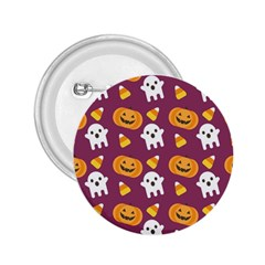 Pumpkin Ghost Canddy Helloween 2 25  Buttons