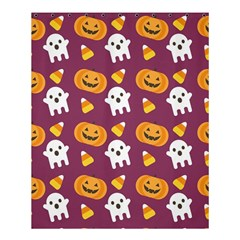 Pumpkin Ghost Canddy Helloween Shower Curtain 60  X 72  (medium)