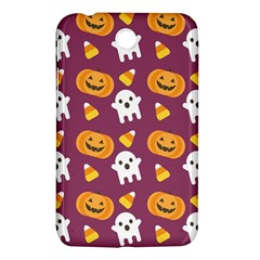 Pumpkin Ghost Canddy Helloween Samsung Galaxy Tab 3 (7 ) P3200 Hardshell Case  by AnjaniArt