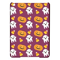 Pumpkin Ghost Canddy Helloween Ipad Air Hardshell Cases by AnjaniArt