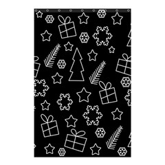 Simple Xmas Pattern Shower Curtain 48  X 72  (small)