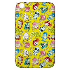 Robot Cartoons Samsung Galaxy Tab 3 (8 ) T3100 Hardshell Case  by AnjaniArt