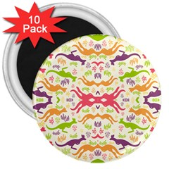 Rrrrrkangaroo 3  Magnets (10 Pack)