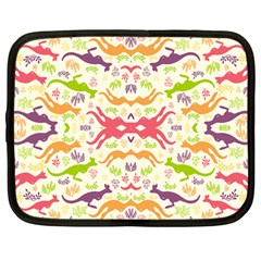 Rrrrrkangaroo Netbook Case (large) by AnjaniArt