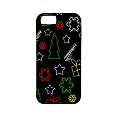 Colorful Xmas Pattern Apple Iphone 5 Classic Hardshell Case (pc+silicone) by Valentinaart