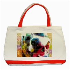 Layla Merch Classic Tote Bag (red) by tigflea