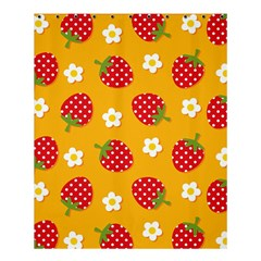 Strawberry Shower Curtain 60  X 72  (medium)  by AnjaniArt