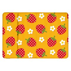 Strawberry Samsung Galaxy Tab 8 9  P7300 Flip Case by AnjaniArt