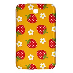Strawberry Samsung Galaxy Tab 3 (7 ) P3200 Hardshell Case  by AnjaniArt
