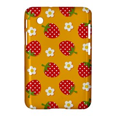 Strawberry Samsung Galaxy Tab 2 (7 ) P3100 Hardshell Case  by AnjaniArt
