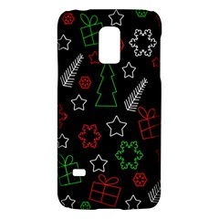 Green And  Red Xmas Pattern Galaxy S5 Mini by Valentinaart