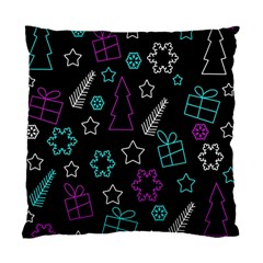 Creative Xmas Pattern Standard Cushion Case (two Sides)