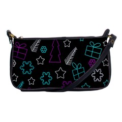 Creative Xmas Pattern Shoulder Clutch Bags by Valentinaart