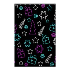 Creative Xmas Pattern Shower Curtain 48  X 72  (small)