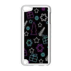Creative Xmas Pattern Apple Ipod Touch 5 Case (white) by Valentinaart