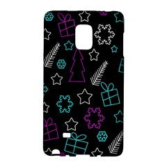 Creative Xmas Pattern Galaxy Note Edge by Valentinaart