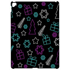 Creative Xmas Pattern Apple Ipad Pro 12 9   Hardshell Case