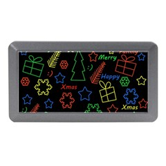 Playful Xmas Pattern Memory Card Reader (mini) by Valentinaart