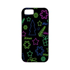 Decorative Xmas Pattern Apple Iphone 5 Classic Hardshell Case (pc+silicone) by Valentinaart