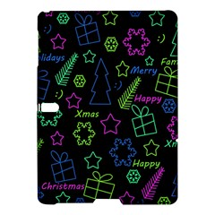 Decorative Xmas Pattern Samsung Galaxy Tab S (10 5 ) Hardshell Case  by Valentinaart