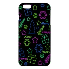 Decorative Xmas Pattern Iphone 6 Plus/6s Plus Tpu Case by Valentinaart