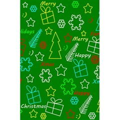 Green Xmas Pattern 5 5  X 8 5  Notebooks by Valentinaart