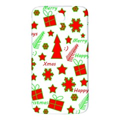Red And Green Christmas Pattern Samsung Galaxy Mega I9200 Hardshell Back Case by Valentinaart