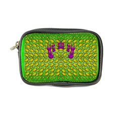 Flowers And Yoga In The Wind Coin Purse by pepitasart