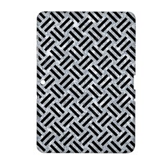 Woven2 Black Marble & Gray Marble (r) Samsung Galaxy Tab 2 (10 1 ) P5100 Hardshell Case  by trendistuff