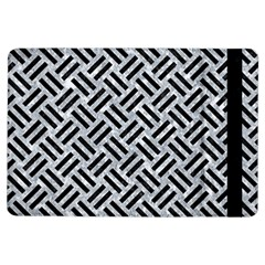 Woven2 Black Marble & Gray Marble (r) Apple Ipad Air Flip Case by trendistuff