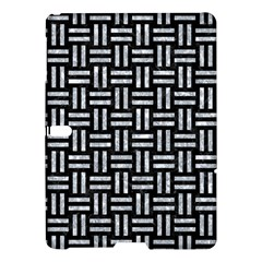 Woven1 Black Marble & Gray Marble Samsung Galaxy Tab S (10 5 ) Hardshell Case  by trendistuff