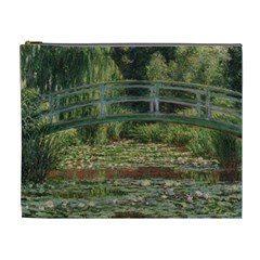 The Japanese Footbridge By Claude Monet Cosmetic Bag (xl) by ArtMuseum
