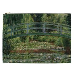 The Japanese Footbridge By Claude Monet Cosmetic Bag (xxl)  by ArtMuseum
