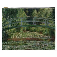 The Japanese Footbridge By Claude Monet Cosmetic Bag (xxxl)  by ArtMuseum