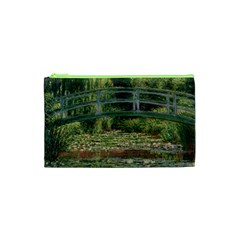 The Japanese Footbridge By Claude Monet Cosmetic Bag (xs) by ArtMuseum