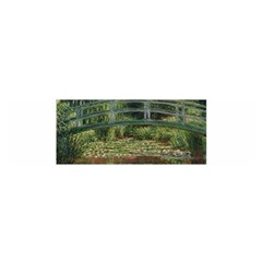 The Japanese Footbridge By Claude Monet Satin Scarf (oblong) by ArtMuseum