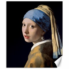 Girl With A Pearl Earring Canvas 20  X 24   by ArtMuseum