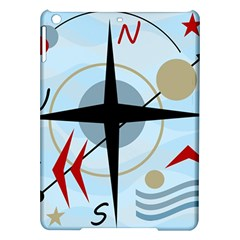 Compass Ipad Air Hardshell Cases by Valentinaart