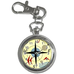 Compass 3 Key Chain Watches