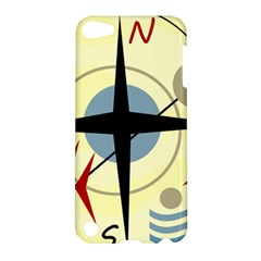 Compass 3 Apple Ipod Touch 5 Hardshell Case by Valentinaart