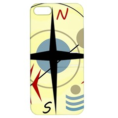 Compass 3 Apple Iphone 5 Hardshell Case With Stand by Valentinaart