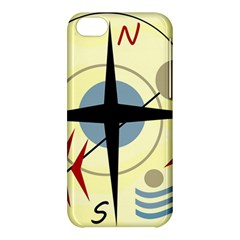 Compass 3 Apple Iphone 5c Hardshell Case by Valentinaart