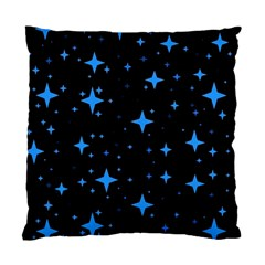 Bright Blue  Stars In Space Standard Cushion Case (one Side) by Costasonlineshop