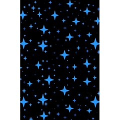 Bright Blue  Stars In Space 5 5  X 8 5  Notebooks by Costasonlineshop