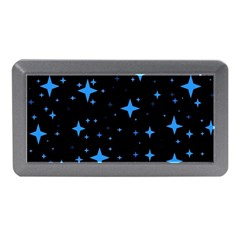Bright Blue  Stars In Space Memory Card Reader (mini) by Costasonlineshop