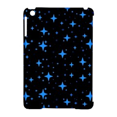 Bright Blue  Stars In Space Apple Ipad Mini Hardshell Case (compatible With Smart Cover) by Costasonlineshop