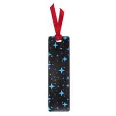 Bright Blue  Stars In Space Small Book Marks by Costasonlineshop
