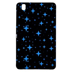 Bright Blue  Stars In Space Samsung Galaxy Tab Pro 8 4 Hardshell Case by Costasonlineshop