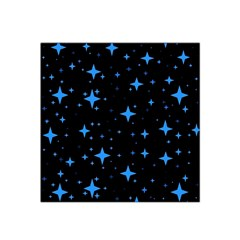 Bright Blue  Stars In Space Satin Bandana Scarf by Costasonlineshop