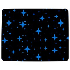 Bright Blue  Stars In Space Jigsaw Puzzle Photo Stand (rectangular) by Costasonlineshop